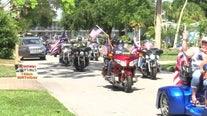 Community parade celebrates Manatee County WWII vet on his 100th birthday