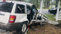 FHP: 2 injured after SUV crashes into Brooksville RV Park