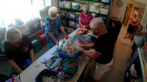 Knitters switch to sewing to make PPE for frontline workers