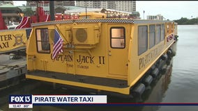Pirate Water Taxi returns to Hillsborough River