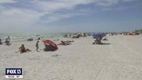 """Beaches reach """"unprecedented levels of closures,"""" Pinellas Sheriff's Office says"""