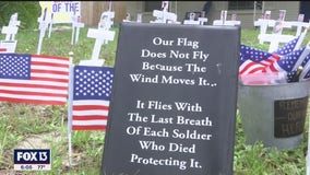 Tarpon Springs veteran memorializes service members who gave the ultimate sacrifice