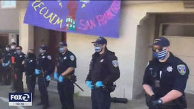 Thin Blue Line mask doesn't fly with SFPD Chief Scott