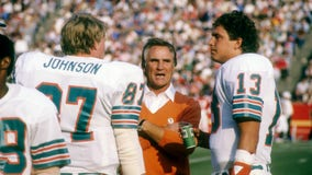 Legendary Miami Dolphins coach Don Shula dies at 90