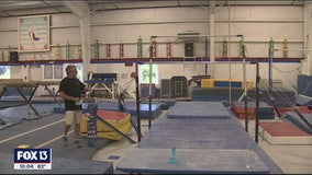 Gymnastics studios preparing for a slow re-open on Monday