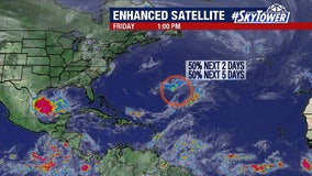 Third tropical system may form before official start of hurricane season