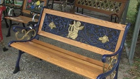 Bench Heaven: Frostproof man brings old iron benches back to life