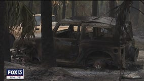 Fire crews from Tampa Bay area head south to fight spreading brush fires