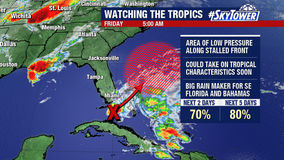 Tropical system may develop this weekend; have no 'significant' impact to Florida