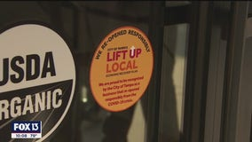Yellow sticker means Tampa businesses follows COVID-19 safety guidelines