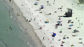 Social distancing restrictions lifted at Pinellas beaches, pools, playgrounds