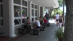Restaurant staff slowly return to emptier tables, smaller checks