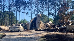 Homes destroyed in Florida Panhandle as wildfires rage on