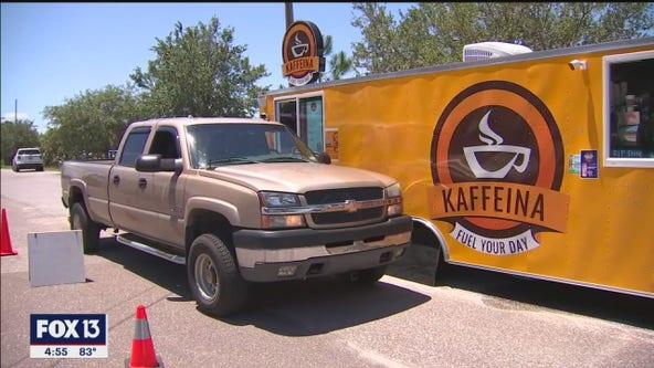 Kaffeina coffee truck opens in New Port Richey