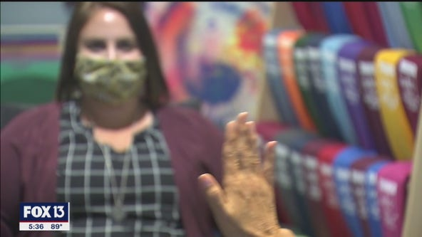 Therapists learn to use visuals, movement to treat patients