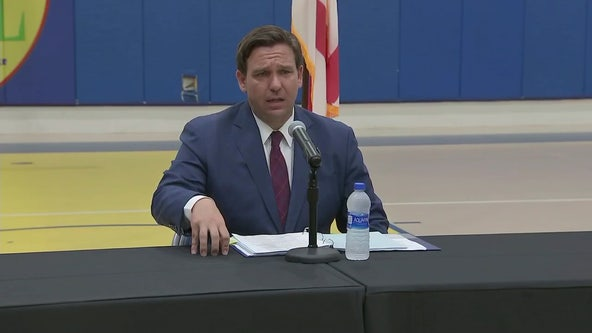 Gov. DeSantis pushes to reschedule UF-FSU football game