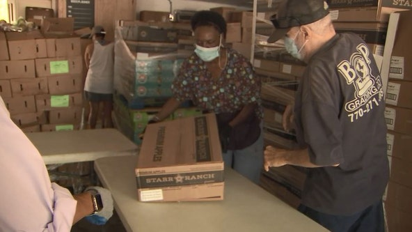 Veteran's non-profit helps feed hundreds of Bay Area families