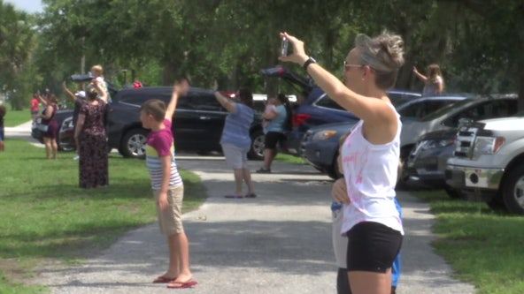 Manatee County bids farewell to non-traditional school year with parade