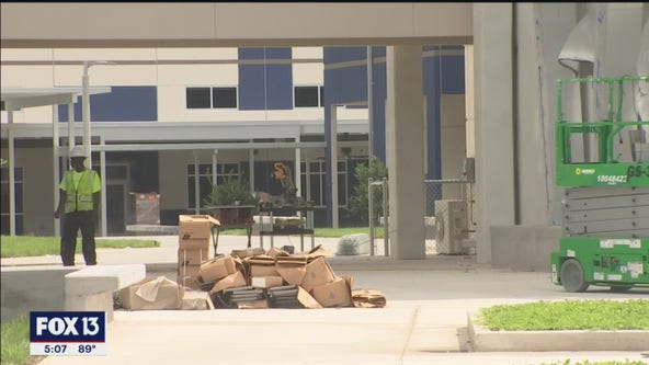 Hillsborough County's newest and largest high school prepares to open