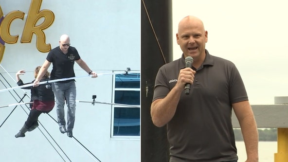 Daredevil Nik Wallenda will host drive-in 'thrill' shows in Sarasota