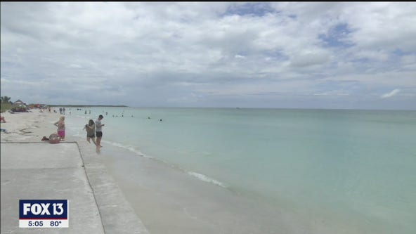 Weather dampens Memorial Day on Pinellas County beaches