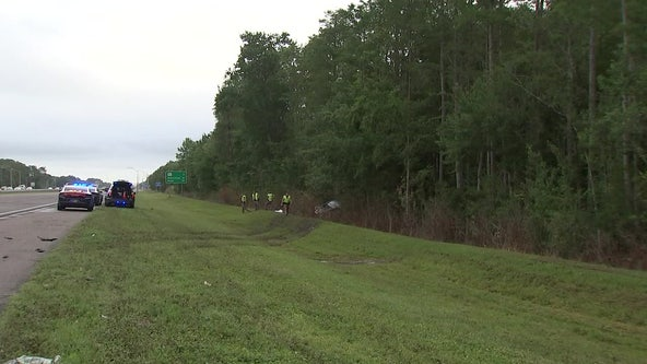 Driver dies following I-75 crash in Wesley Chapel, troopers say