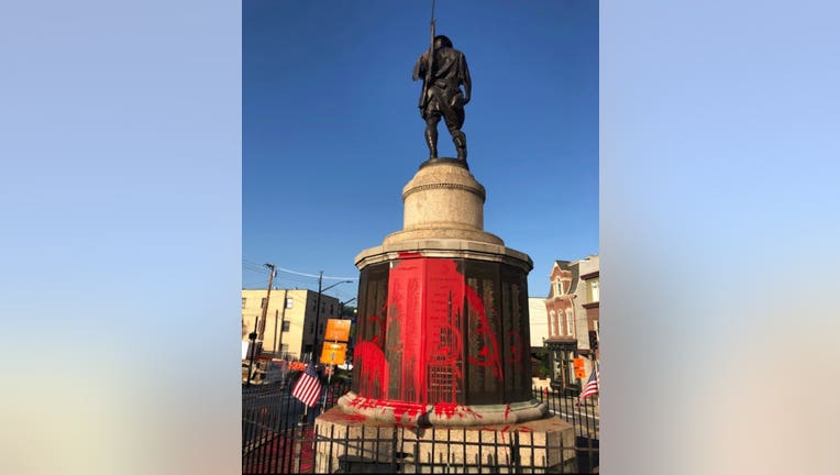 Pittsburg WWI Memorial Vandalized PittPD