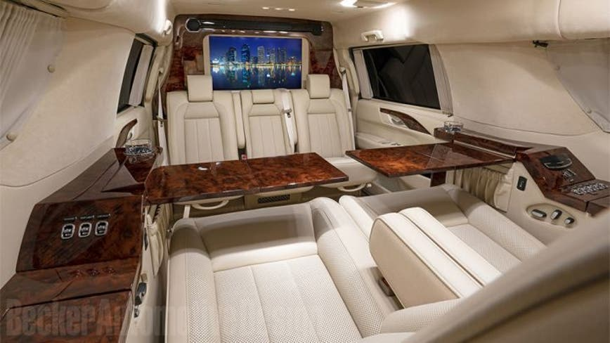 Tom Brady's customized Cadillac Escalade on sale for $300K