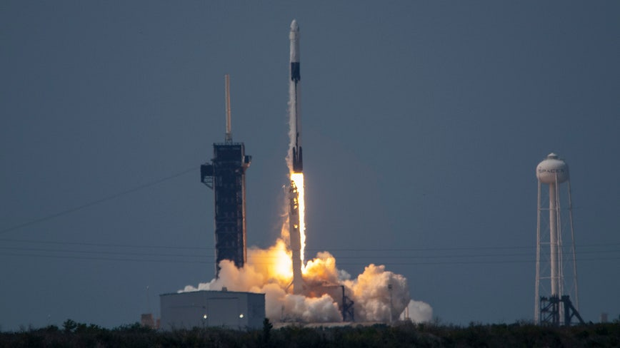 Liftoff: NASA and SpaceX make history