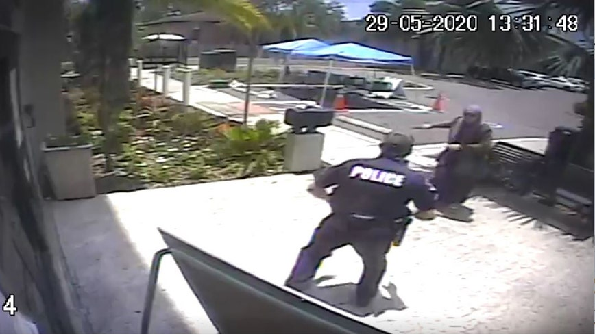 Video: Woman pulls knife on Temple Terrace officer before being fatally shot, police say