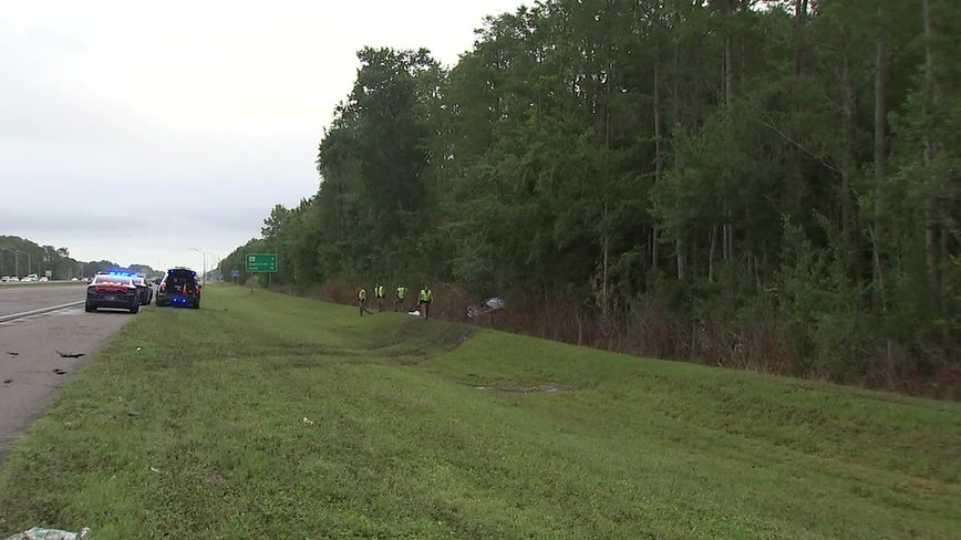 Driver dies following I-75 in Wesley Chapel, troopers say
