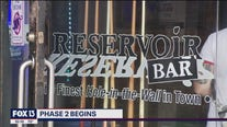 Bars celebrate phase 2 reopening