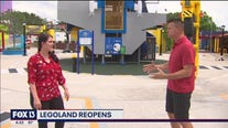 Legoland reopens