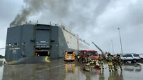 9 firefighters hospitalized in Jacksonville after ship explosion