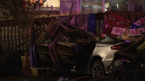 Several injured after after two cars crash into St. Pete patio, police say