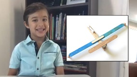Bored during pandemic, 6-year-old boy launches craft airplane business