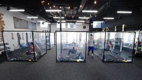 California gym owner says plastic workout pods are a hit amid pandemic: 'Everybody was super excited'