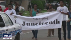 Large companies join those who say 'the time is now' to make Juneteenth a national holiday