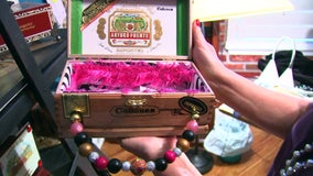 Tampa woman turns old cigar boxes into fashionable accessories