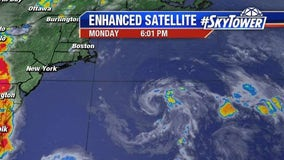 Tropical depression forms off East Coast; no threat to U.S.