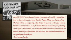 After nearly 55 years in business, Wagon Wheel Flea Market to close permanently