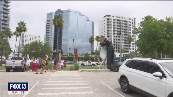 Roundabout forcing relocation of iconic statue in Sarasota