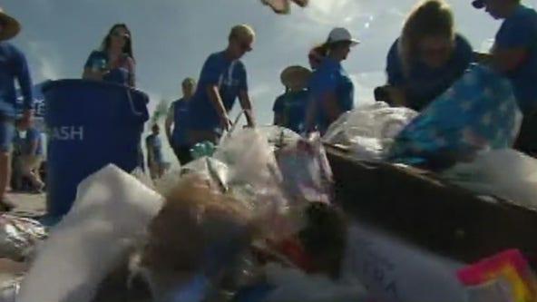 Plastic pollution a problem at U.S. parks