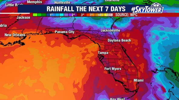 Cristobal weakens for now; still expected to bring soaking rains to Florida