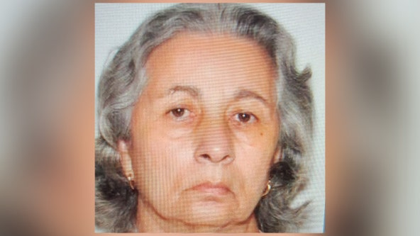 Tampa police searching for missing woman with Alzheimer's