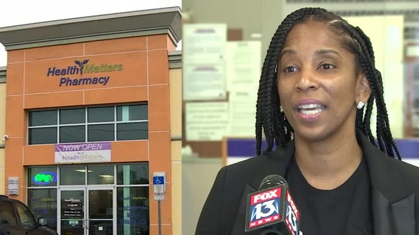 Pharmacy owner continues mission for community health after looters ransack business