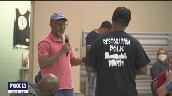 Protest organizers meet with Polk community leaders to discuss demonstration planned for Sunday