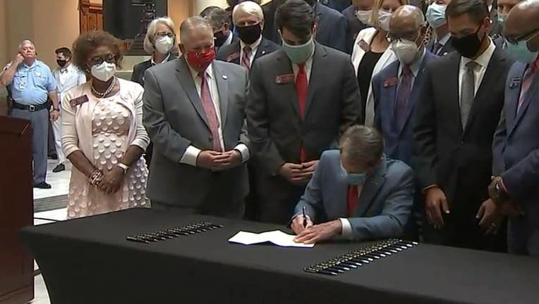 Kemp signs Hate Crime Bill