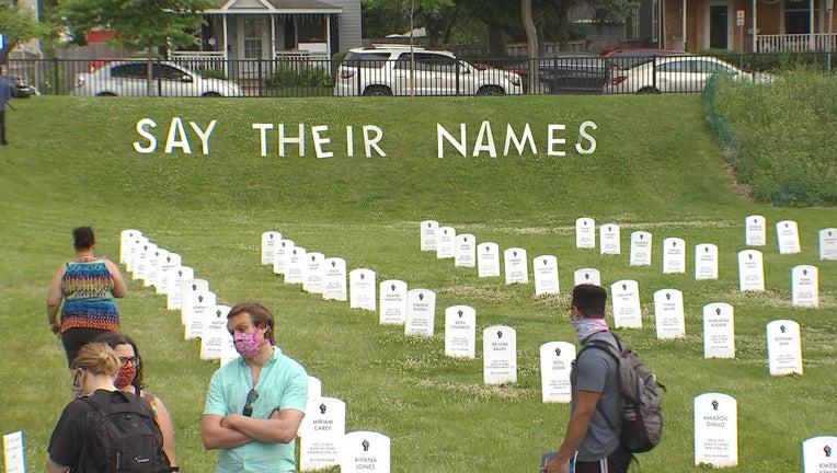 minneapolis tombstones