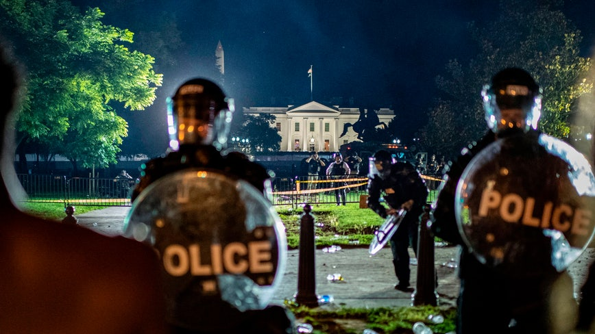 At least 60 Secret Service members injured during protests near White House